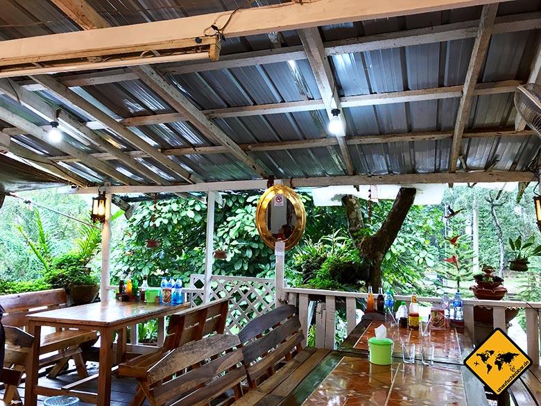 Bhubing Palace Chiang Mai National Park Restaurant