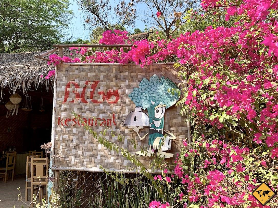 Bibo Restaurant Kochkurs Bagan