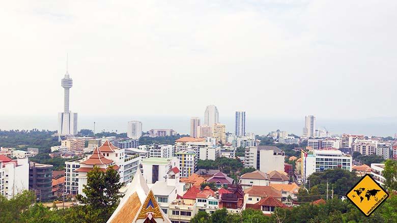 Big Buddha Hill Pattaya Ausblick