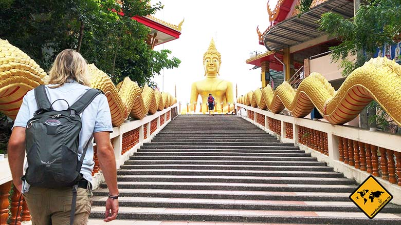 Big Buddha Hill Pattaya Treppen