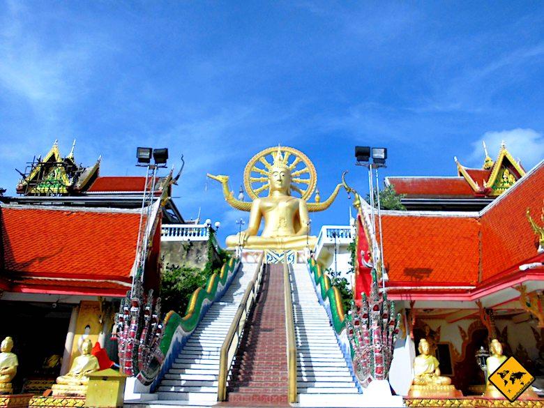Big Buddha Koh Samui Treppe