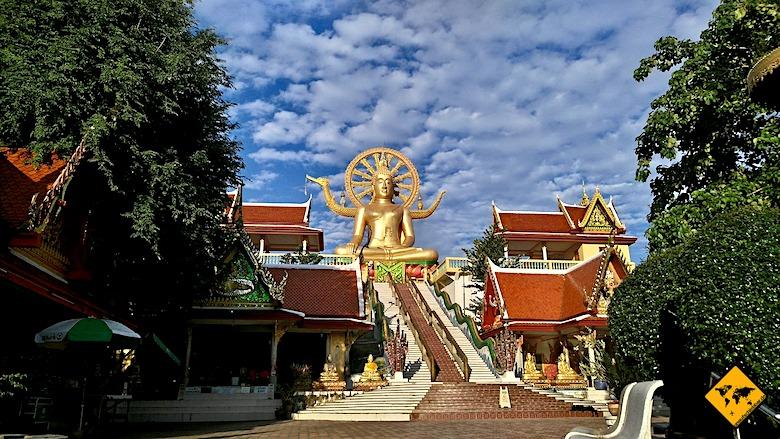 Big Buddha Koh Samui Vorhof