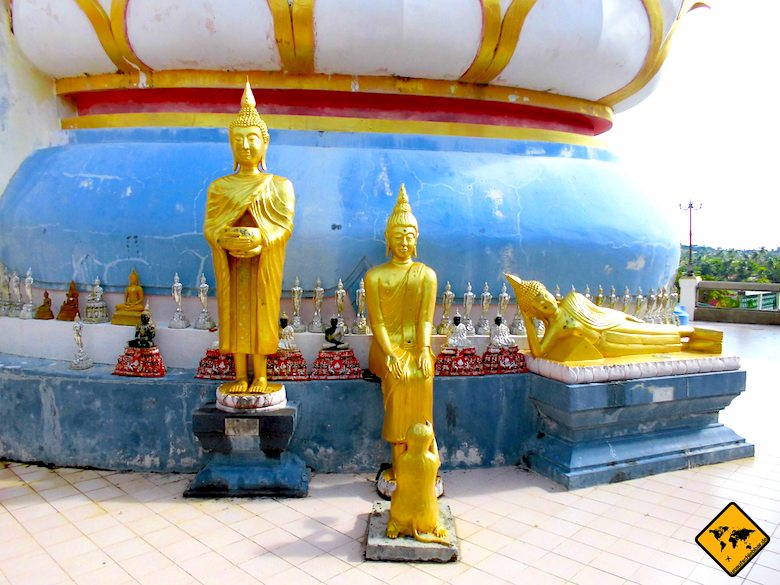 Big Buddha Koh Samui kleine Buddha Figuren
