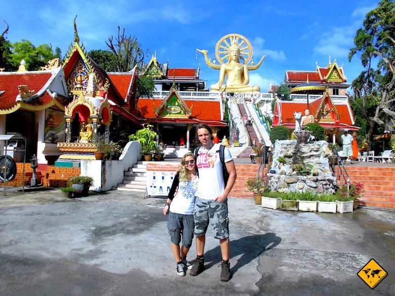 Big Buddha Koh Samui morgens