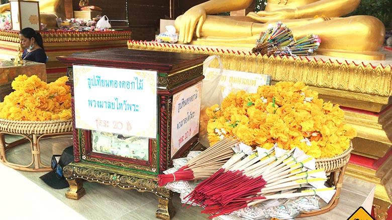 Big Buddha Pattaya Blumen Räucherstäbchen