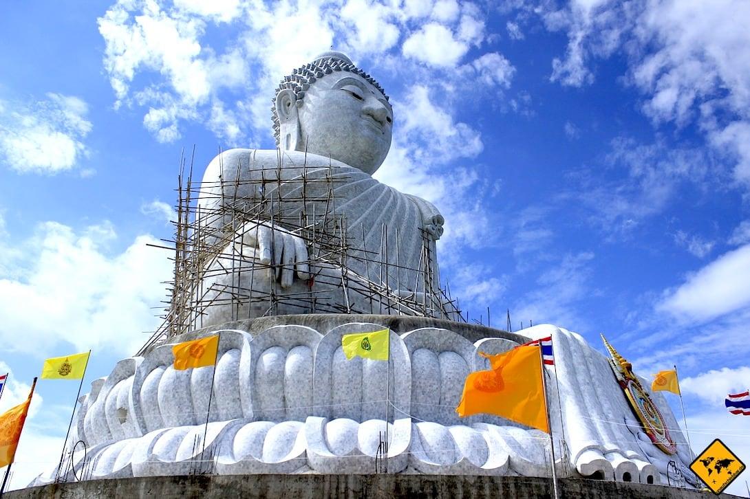 Big Buddha Phuket Baugerüst
