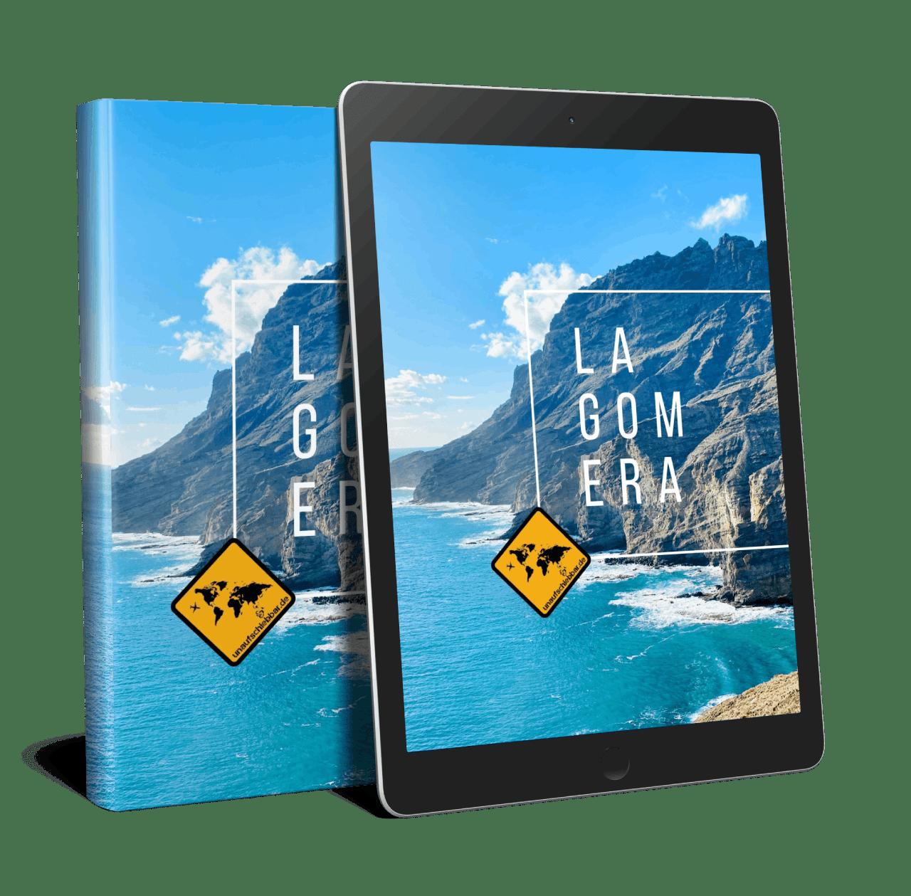 Bildband La Gomera Cover Ebook Reader