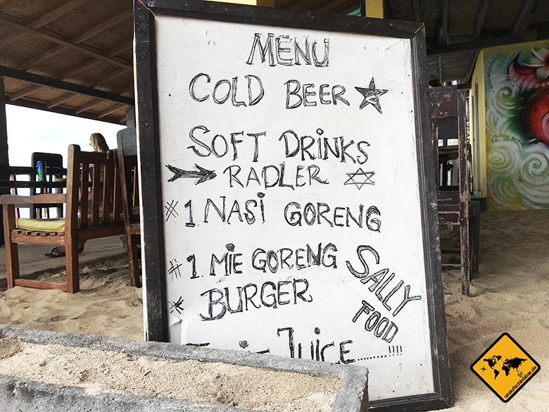 Bingin Bali Warungs