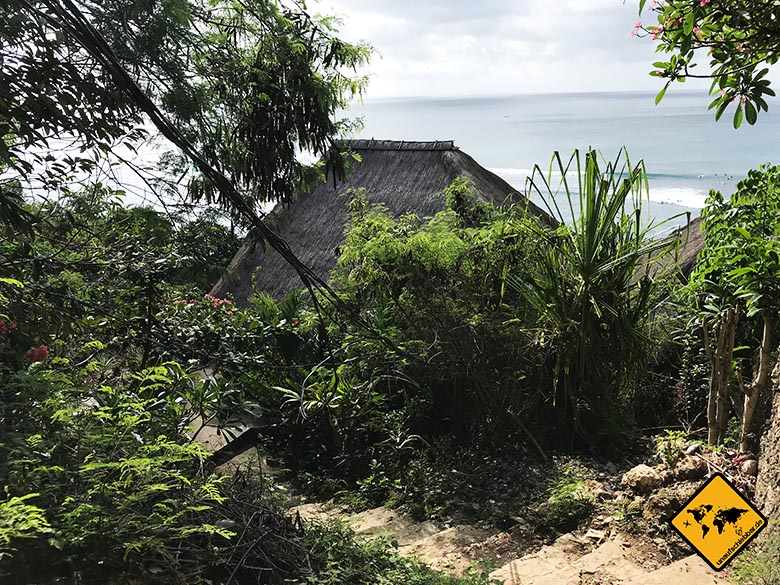 Bingin Beach Bali Meerblick Weg