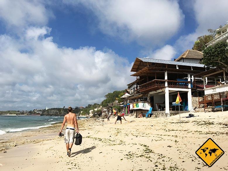 Bingin Beach Bali Seegras