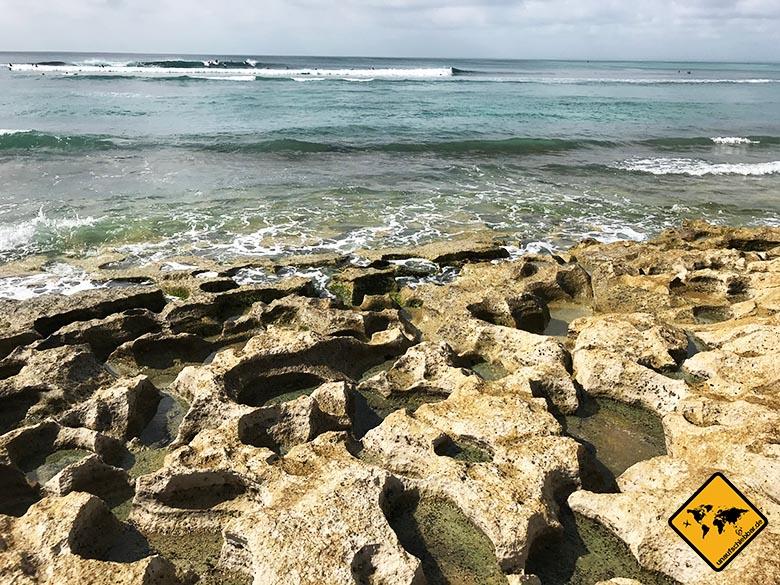 Bingin Beach Bali Steine