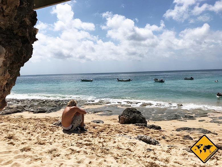 Bingin Beach Bali relaxen
