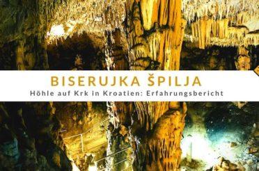 Biserujka Špilja (Höhle) auf Krk in Kroatien: Erfahrungsbericht