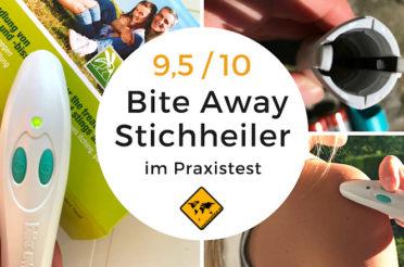 Bite Away Test (9,5 / 10) – Lohnt sich der Insektenstichheiler für deine Reise?