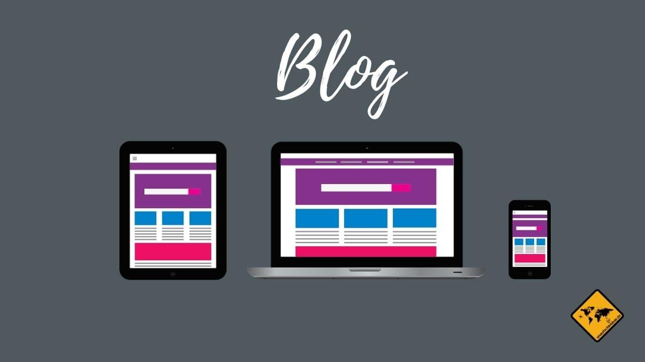 Blog starten von Zuhause arbeiten