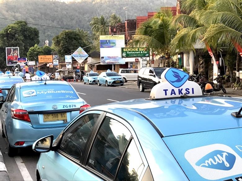 Blue Bird Taxi Bali