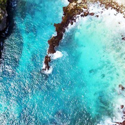 Blue Lagoon Nusa Ceningan Impressionen
