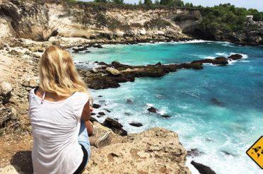 Blue Lagoon Nusa Ceningan – türkis-blaue Traumbucht an der Steilküste
