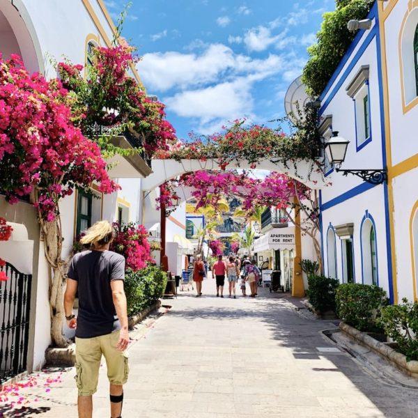 Blumengasse Gran Canaria Puerto de Mogán
