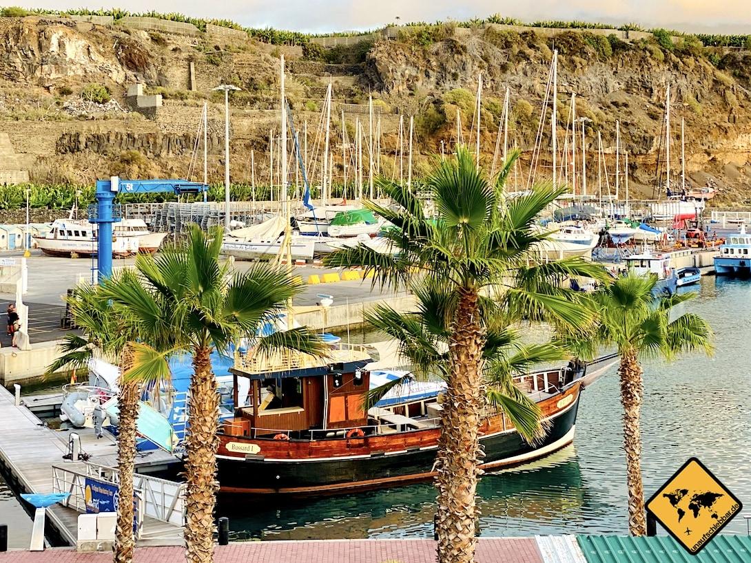 Boot Hafen Tazacorte