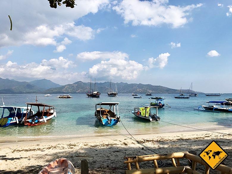 Boote Gili Air Island