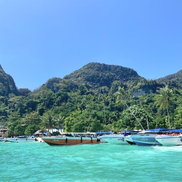 Boote Phi Phi Islands Thailand