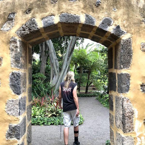Botanischer Garten Tor Puerto Cruz