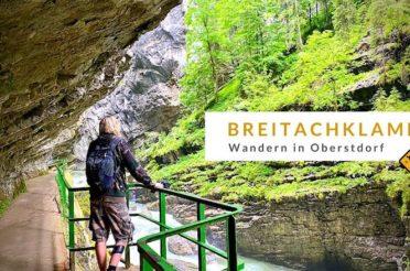 Breitachklamm: Wandern in Oberstdorf – Erfahrungen bei Regen & Corona