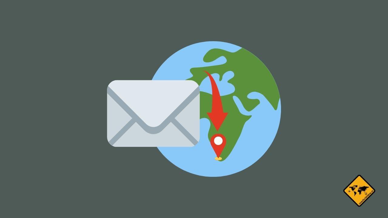 Briefe im Ausland empfangen