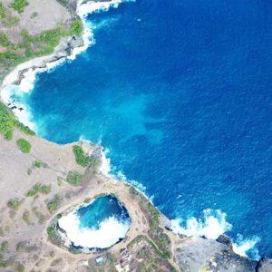 Broken Bay Bali Drohne