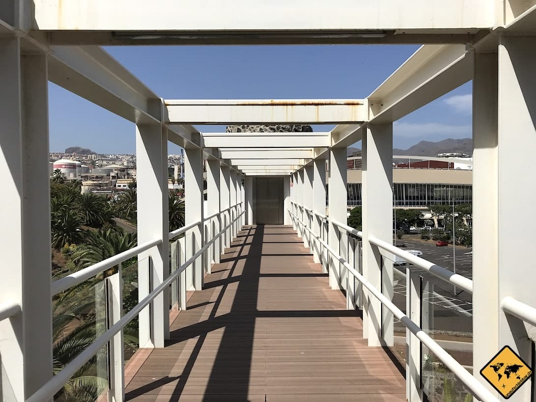 Brücke Palmetum Santa Cruz Teneriffa
