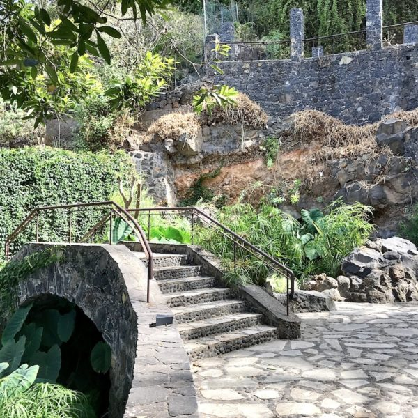 Brücke Parque Los Lavaderos El Sauzal Teneriffa