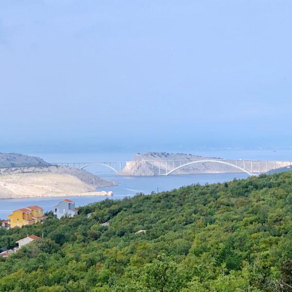 Brücke Überfahrt Insel Krk Kroatien