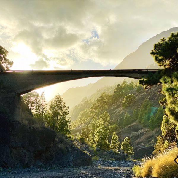 Brücke Wanderung Barranco de las Angustias