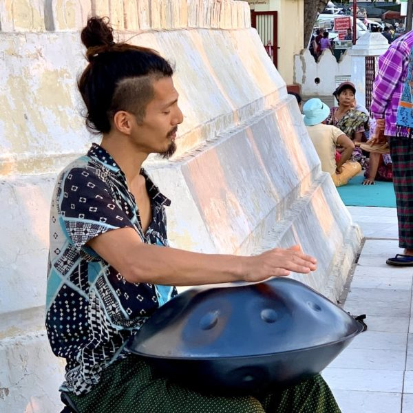 Bu Paya Pagode Myanmar Handpan