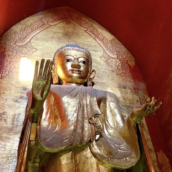 Buddha Ananda Tempel Bagan