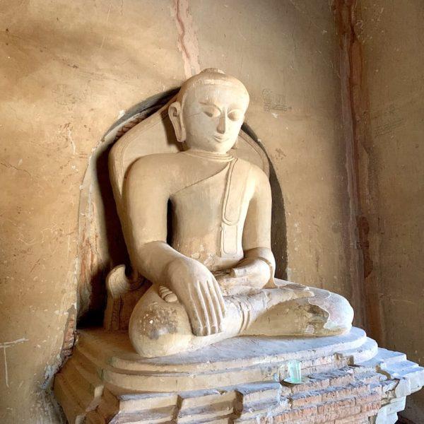 Buddha Figur Paya Thone Zu Tempel Bagan Myanmar