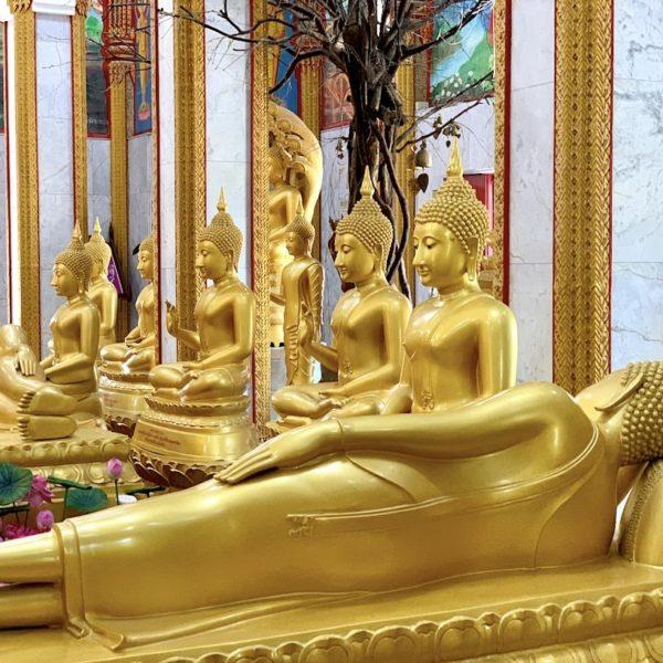 Buddha Figuren Wat Chalong Phuket