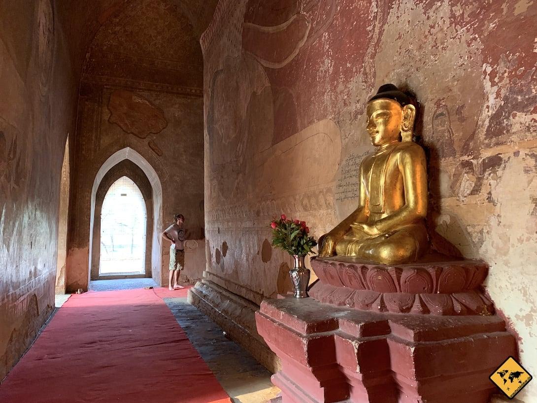 Buddha Gang Bagan Sulamani Tempel