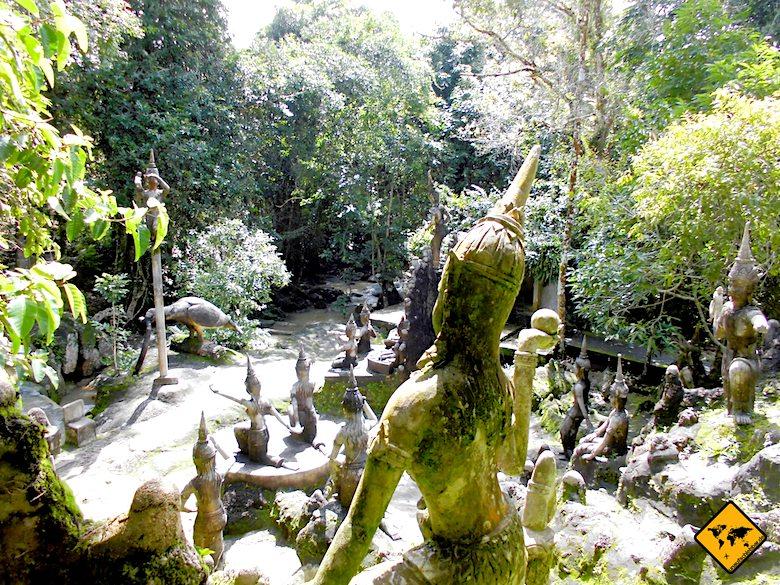 Buddha Garden Koh Samui Skulpturen