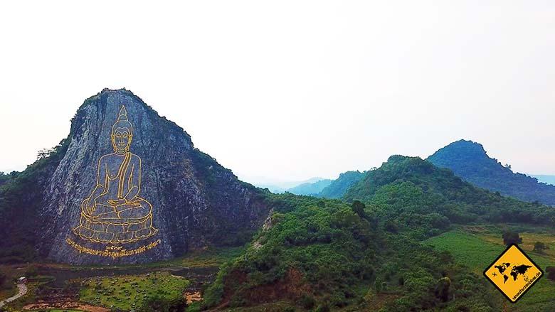 Buddha Mountain Pattaya Natur