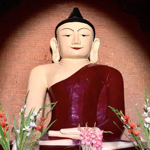 Buddha Narathihapatae Hpaya Tempel Bagan Myanmar