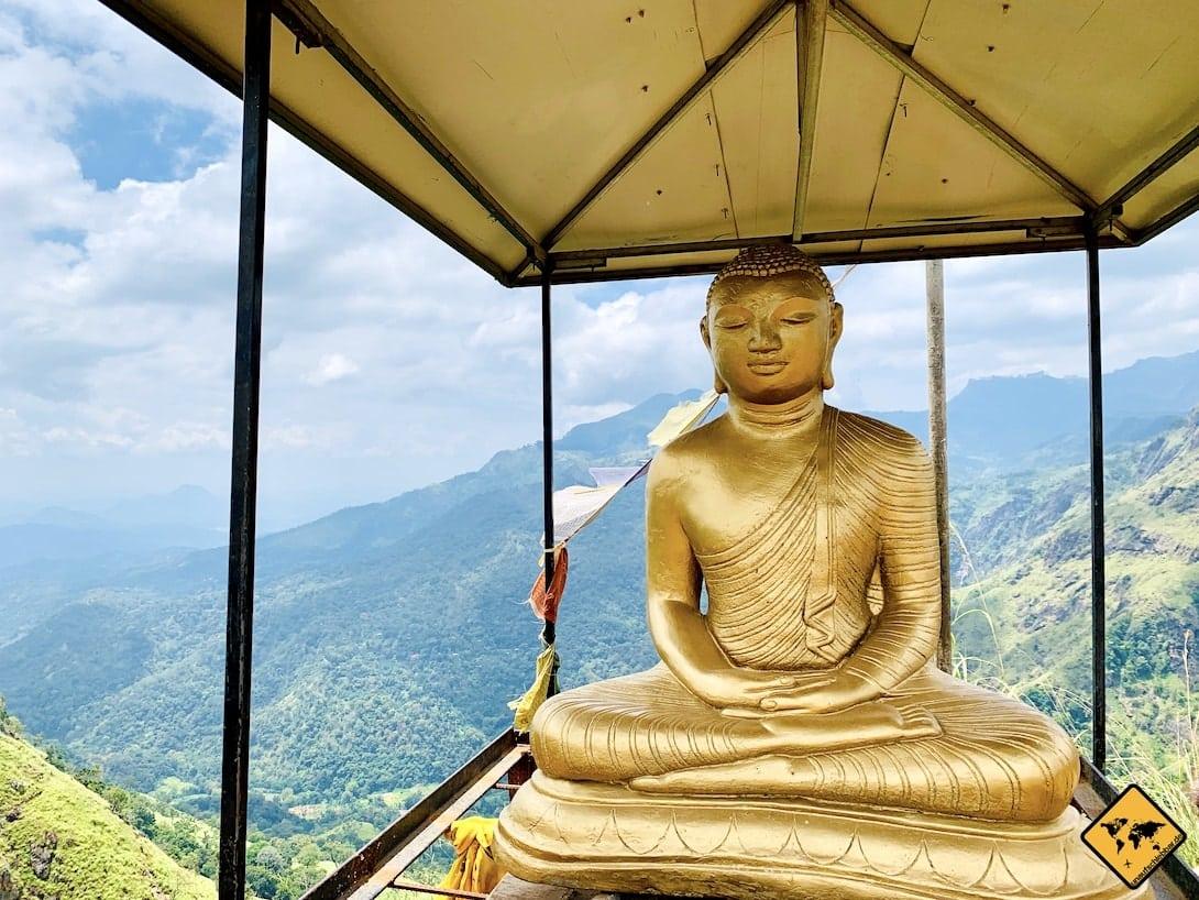 Buddha Statur Little Adam's Peak Ella