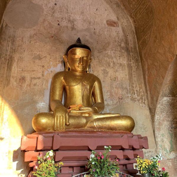 Buddha gold Sulamani Tempel Bagan