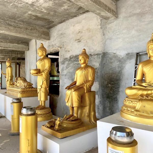 Buddhas Wochentage gold