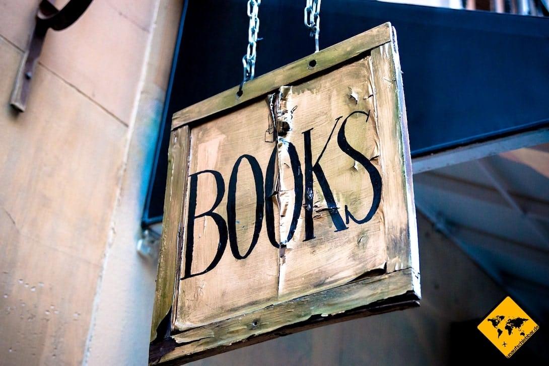 Bücher Schild