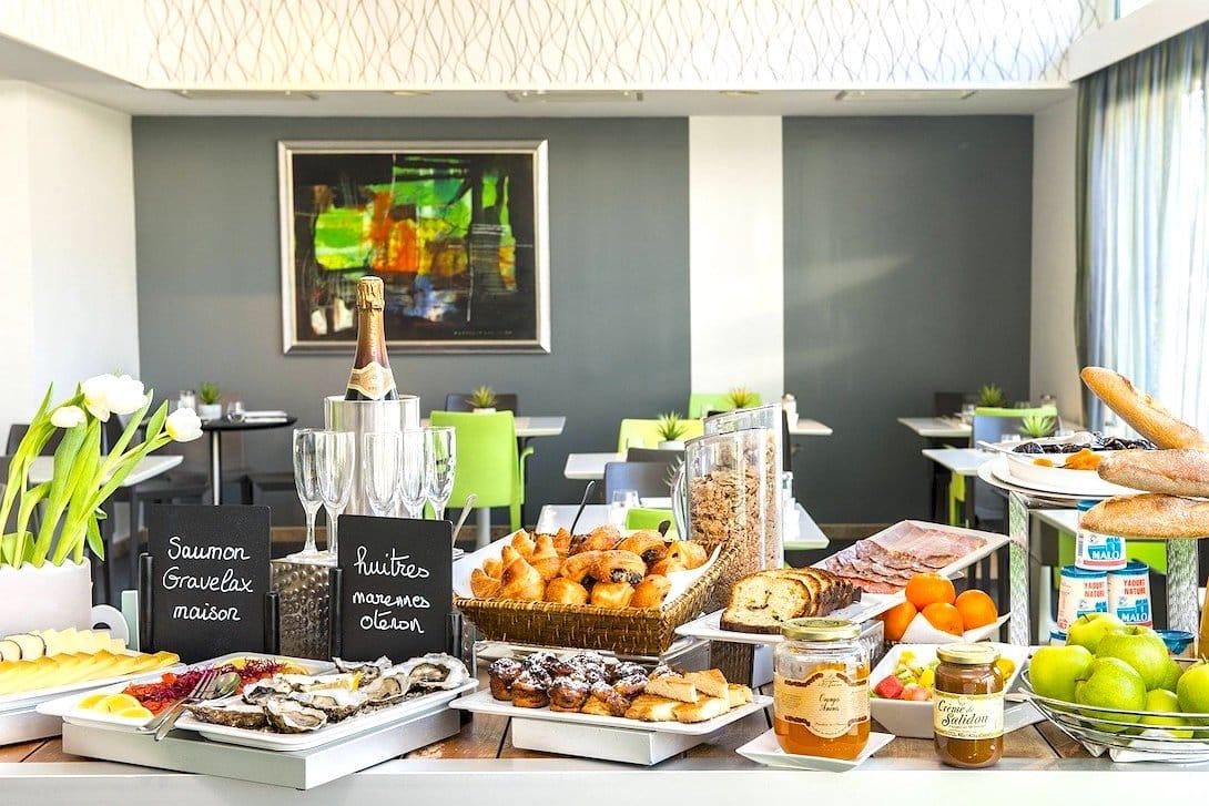 Buffet Hotel Frühstück