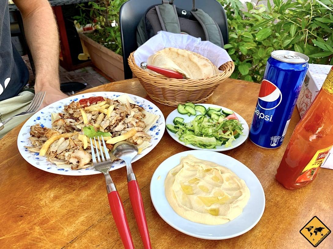 Bur Dubai arabisches Essen