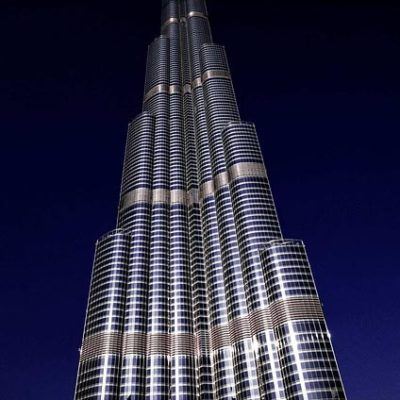 Burj Khalifa Besichtigung bei Nacht
