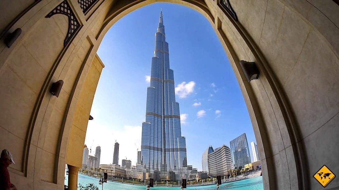 Burj Khalifa Bestandteil Citypass Dubai